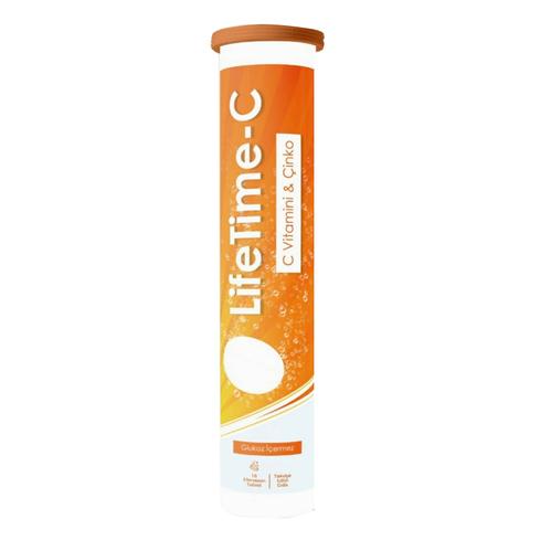 LifeTime - Life Time C Vitamini 16 Efervesan Tablet