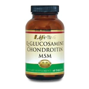 LifeTime - Lifetime Q-Glucosamine & Chondroitin MSM 60 Tablet