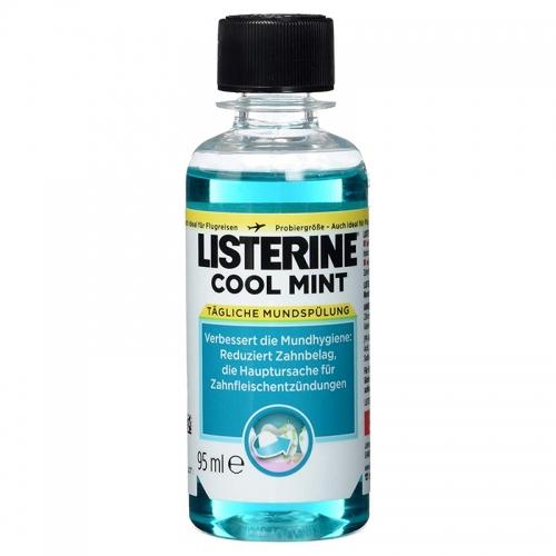 Listerine - Listerine Cool Mint Seyahat Boy Ağız Bakım Ürünü 95 ml