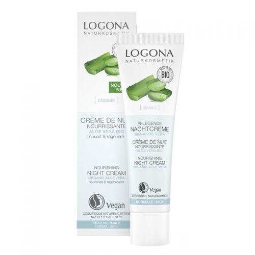 Logona - Logona Aloe Vera Özlü Gece Krem 30 ml