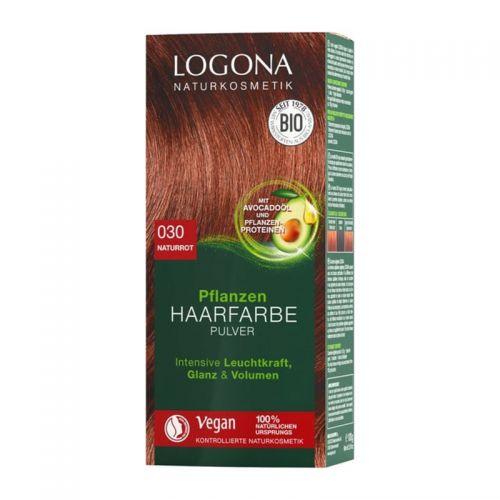 Logona - Logona Bitkisel Toz Saç Boyası Doğal Kızıl 100 gr