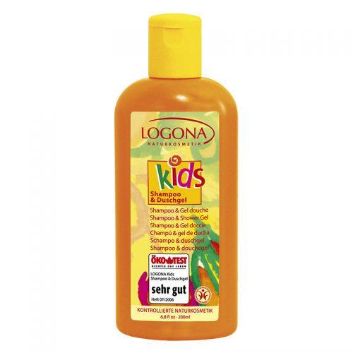 Logona - Logona Çocuk Şampuan ve Duş Jeli 200ml