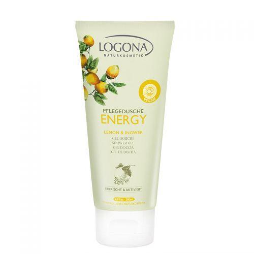Logona - Logona Energy Duş Jeli Limon & Zencefil 200ml