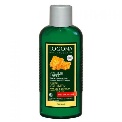Logona Hacim Şampuanı - Organik Ballı ve Biralı 75ml