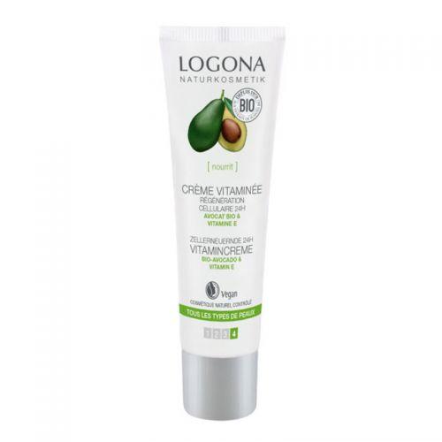 Logona - Logona Organik Avokado ve Vitamin E İçerikli Krem 30 ml