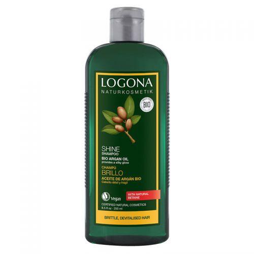 Logona Parlaklık Veren Şampuan - Organik Argan Yağlı 250ml