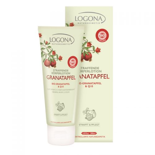 Logona - Logona Sıkılaştırıcı Vücut Losyonu 200ml - Organik Nar ve Q10