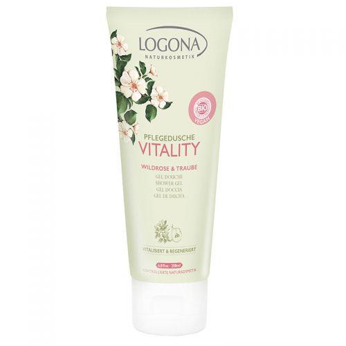 Logona - Logona Vitality Duş Jeli 200ml - Yabangülü & Üzüm