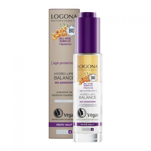 Logona - Logona Yaşlanma Karşıtı Nem ve Yağ Dengesini Sağlayan Serum 30 ml