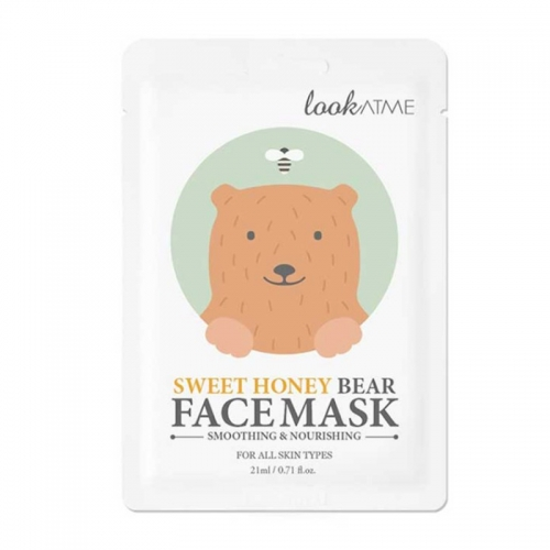 Look At Me - Look At Me Sweet Honey Besleyici Yüz Maskesi 21 ml
