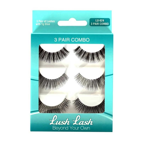 Lush Lash - Lush Lash 3 Lü Bonus Pack Takma Kirpik