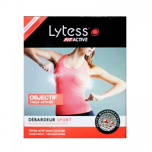 Lytess - Lytess Fit Active Debardeur Sport - Şekillendirici Spor Body (L-XL) Black - Siyah