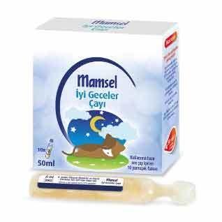 Mamsel - Mamsel İyi Geceler Çayı 15 x 5 ml Flakon