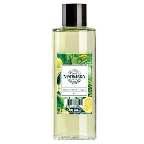 Marmara - Marmara Klasik Limon Çiçeği Kolonyası 80 Derece 500 ml - Cam Şişe
