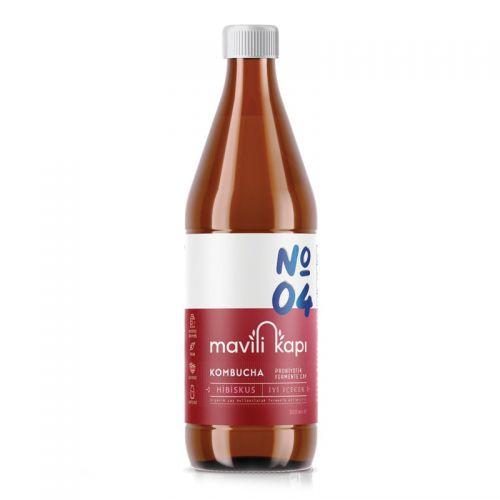 Mavili Kapı - Mavili Kapı Kombucha Hibiskus Aromalı Çay 500 ml