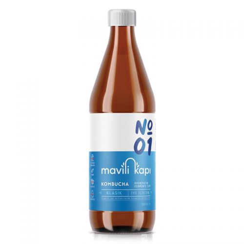 Mavili Kapı - Mavili Kapı Kombucha Klasik Probiyotik Çay 500 ml