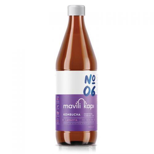 Mavili Kapı - Mavili Kapı Kombucha Lavanta Aromalı Çay 500 ml