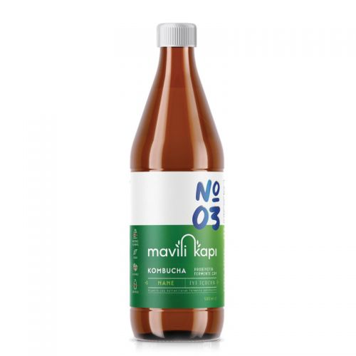 Mavili Kapı - Mavili Kapı Kombucha Nane Aromalı Çay 500 ml