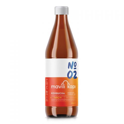 Mavili Kapı - Mavili Kapı Kombucha Tarçın Aromalı Çay 500 ml