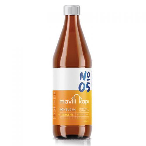 Mavili Kapı - Mavili Kapı Kombucha Zencefil Aromalı Çay 500 ml