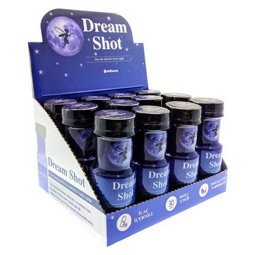 Milkway - Milkway Dream Shot İyi Uykular İçeceği ( 12 li standlı)