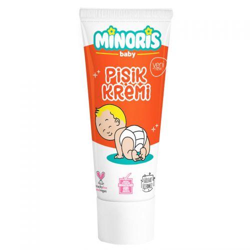 Minoris - Minoris Baby Organik Pişik Bakım Kremi 35 gr