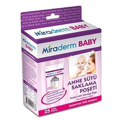 Miraderm - Miraderm Baby Anne Sütü Saklama Poşeti