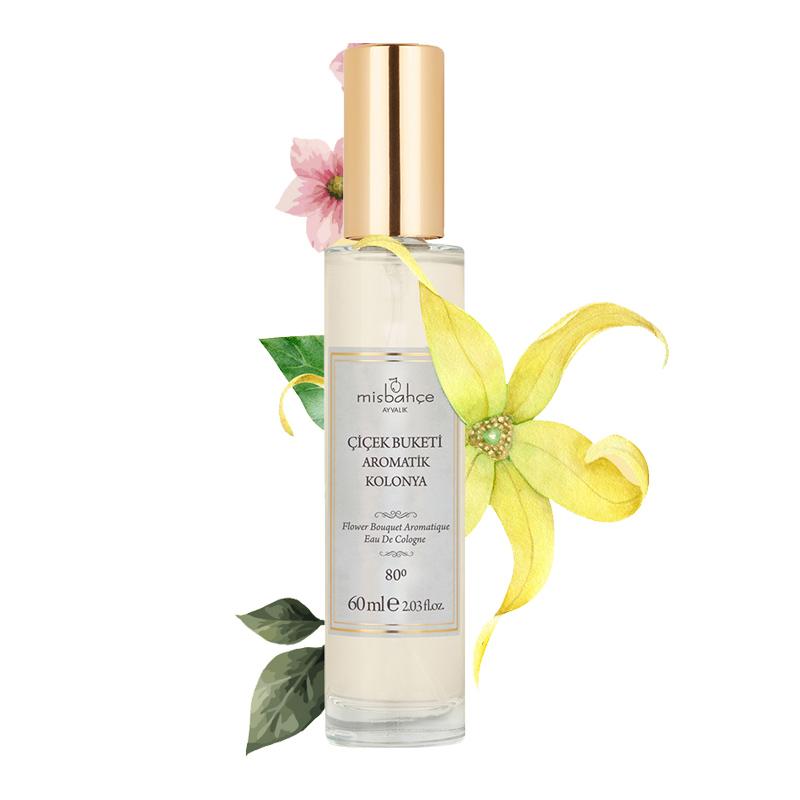 Misbahçe - Misbahçe Çiçek Buketi Aromatik Kolonya 60 ml