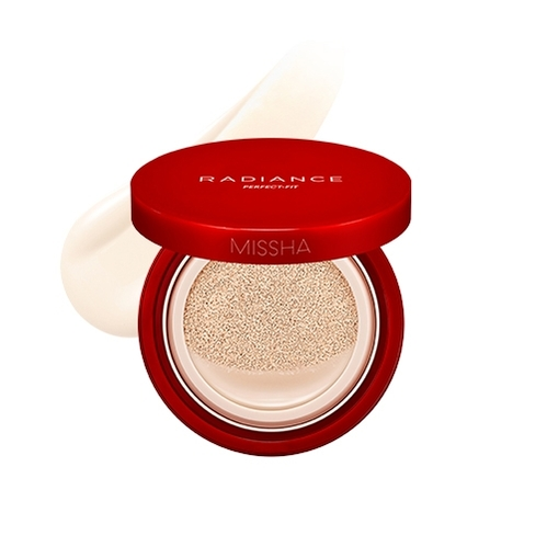 Missha - Missha Radiance Perfect Fit Cushion Foundation (No.19 Ivory) 15 gr