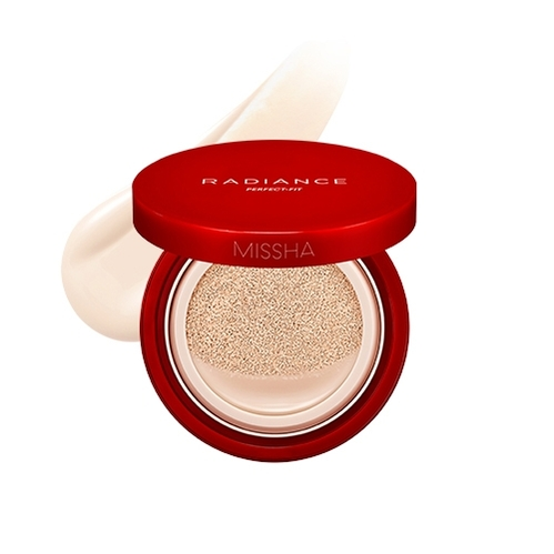 Missha - Missha Radiance Perfect Fit Cushion Foundation (No.21 Fair) 15 gr