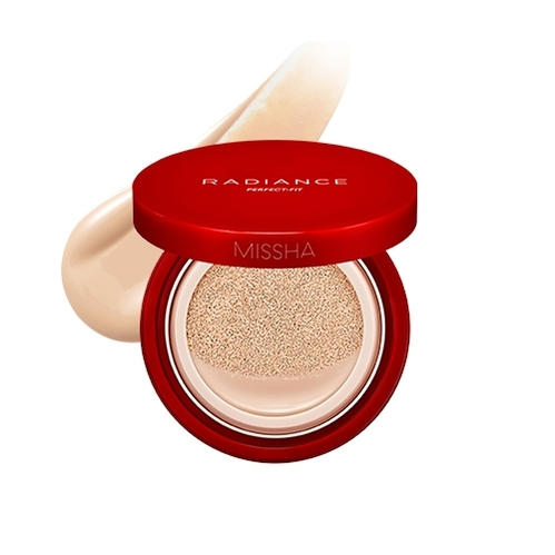 Missha - Missha Radiance Perfect Fit Cushion Foundation (No.23 Sand) 15 gr