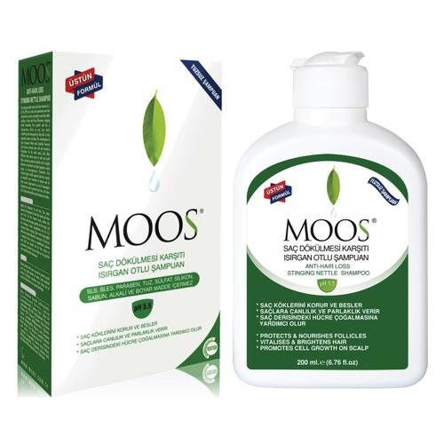 Moos - Moos Isırgan Otlu Saç Dökülme Karşıtı Şampuan 200ml