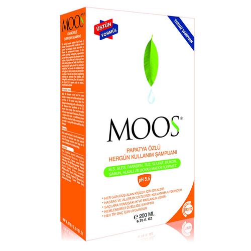 Moos - Moos Papatya Özlü Her Gün Kullanım Şampuanı 200ml