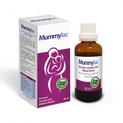 Mummylac - Mummylac Emziren Anneler İçin Bitkisel Damla 50ml