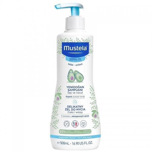 Mustela - Mustela Gentle Cleansing Yenidoğan Bebek Şampuanı 500 ml