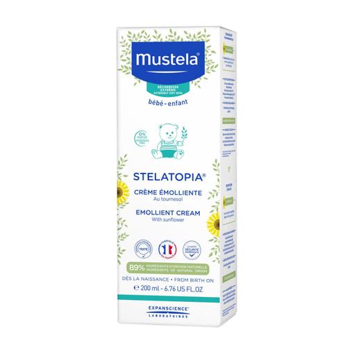 Mustela - Mustela Stelatopia Emollient Yumuşatıcı Krem 200 ml