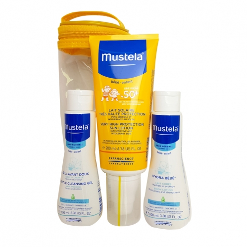 Mustela - Mustela Very High Protection Sun Lotion Spf50 200ml Güneş SETİ