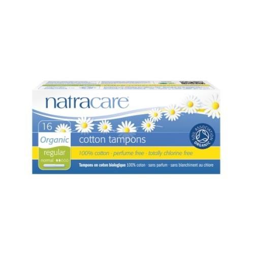 Natracare - Natracare Cotton Tampons - Regular 16 Adet