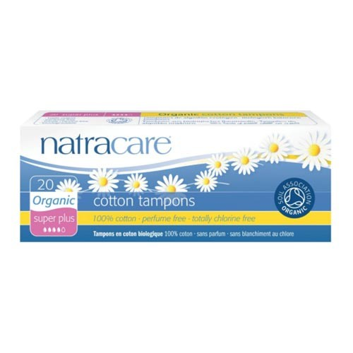 Natracare - Natracare Cotton Tampons - Super Plus 20 Adet