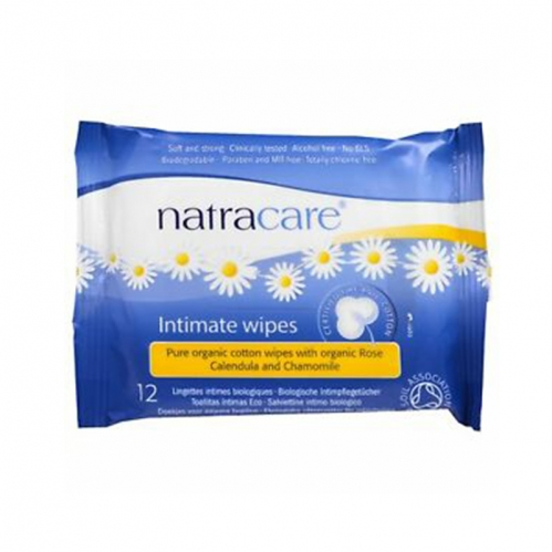 Natracare - Natracare Intimate Wipes 12 Adet