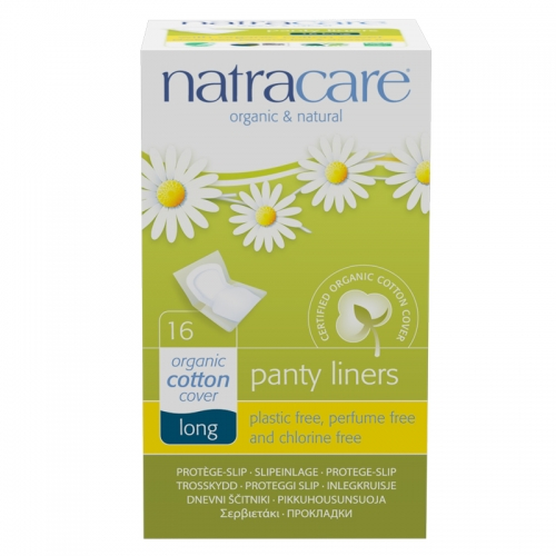 Natracare - Natracare Organic Cotton Cover Long - 16Adet