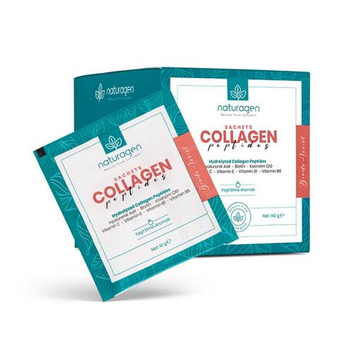 Naturagen - Naturagen Beauty Assist Collagen Peptides 14 x 10 g Saşe