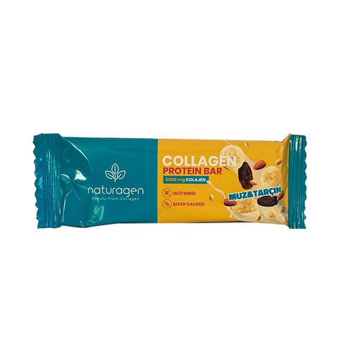 Naturagen - Naturagen Collagen Protein Barı Muz Tarçın 35 mg