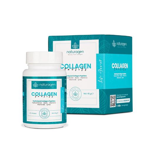 Naturagen - Naturagen Life Assist Collagen Takviye Edici Gıda 30 Tablet