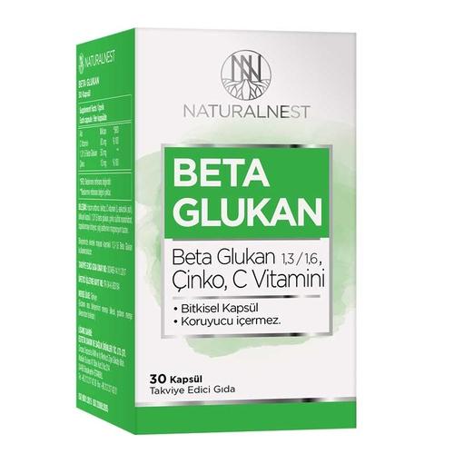 Naturalnest - Naturalnest Beta Glukan 30 Hard Kapsül