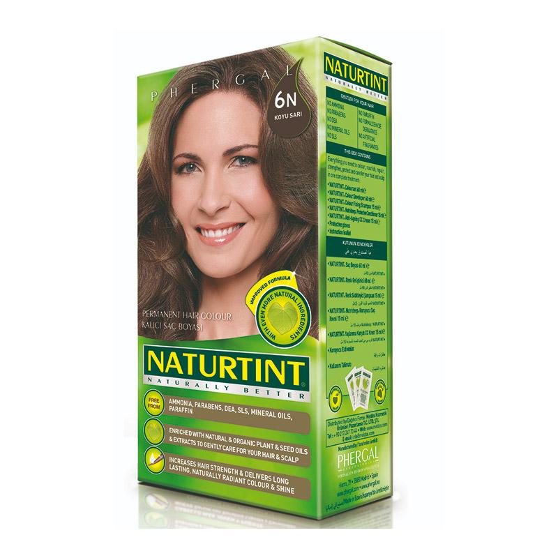 Naturtint - Naturtint Organik Kalıcı Saç Boyası 6N - Koyu Sarısı