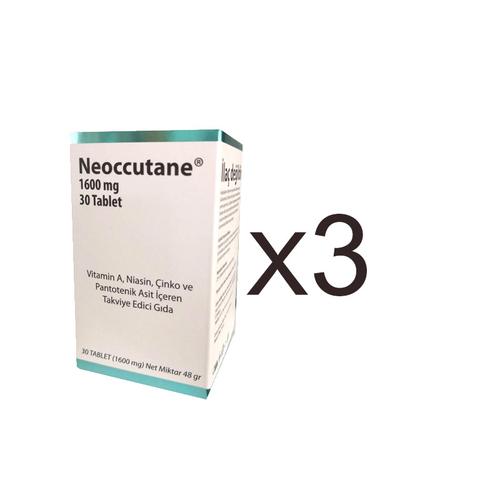 Hair 360 - Neoccuttane Takviye Edici Gıda 3x 30 Tablet