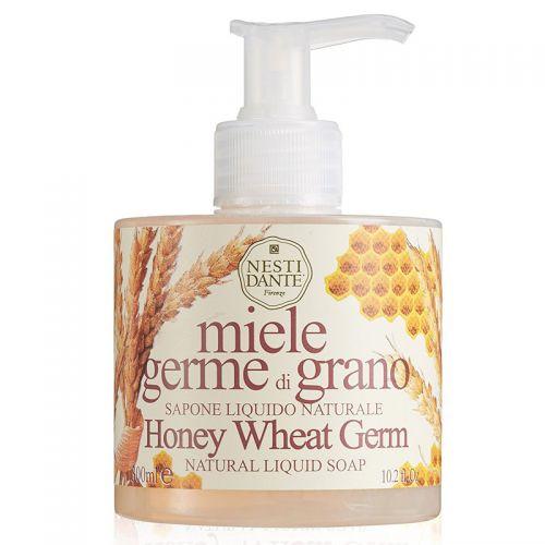 Nesti Dante - Nesti Dante Honey Wheat Germ Natural Liquid Soap 300ml