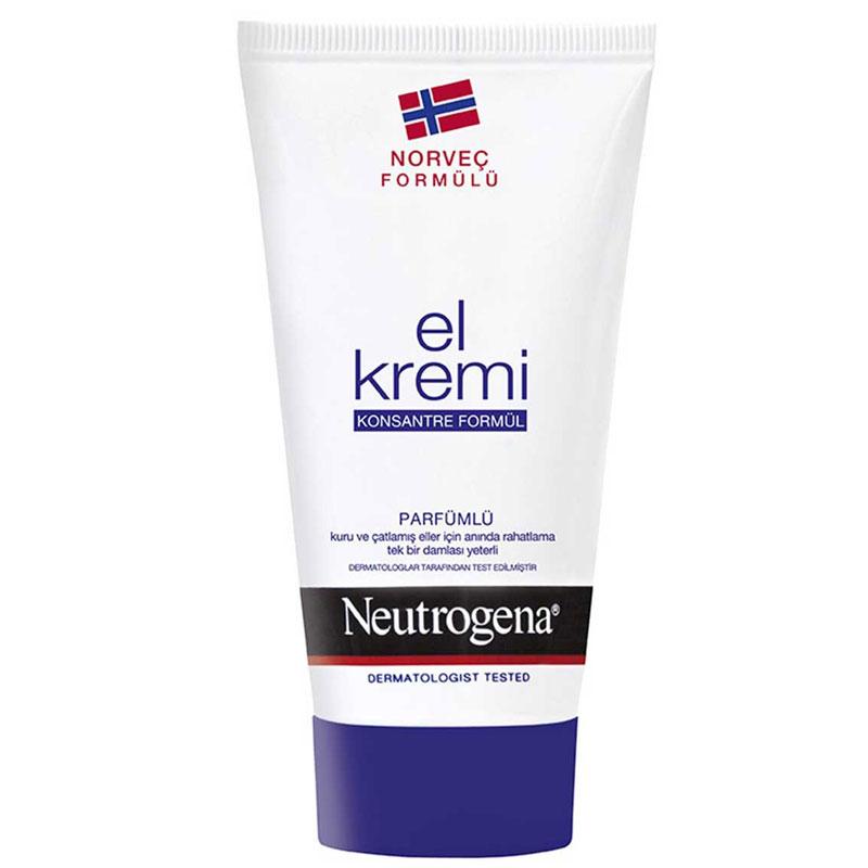 Neutrogena - Neutrogena Parfümlü El Kremi 75 ml