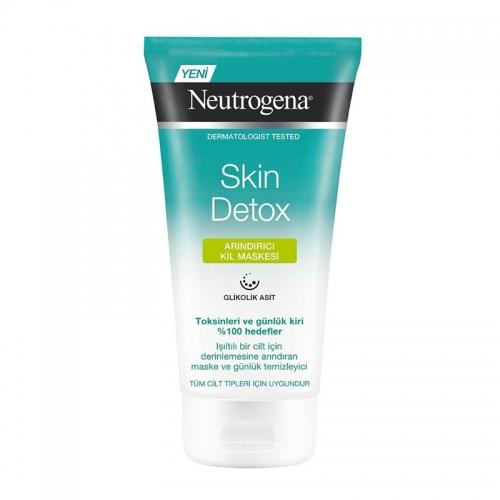 Neutrogena - Neutrogena Skin Detox Arındırıcı Kil Maskesi 150 ml